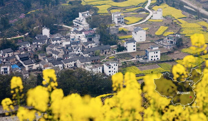 Wuyuan – China's most beautiful rural area