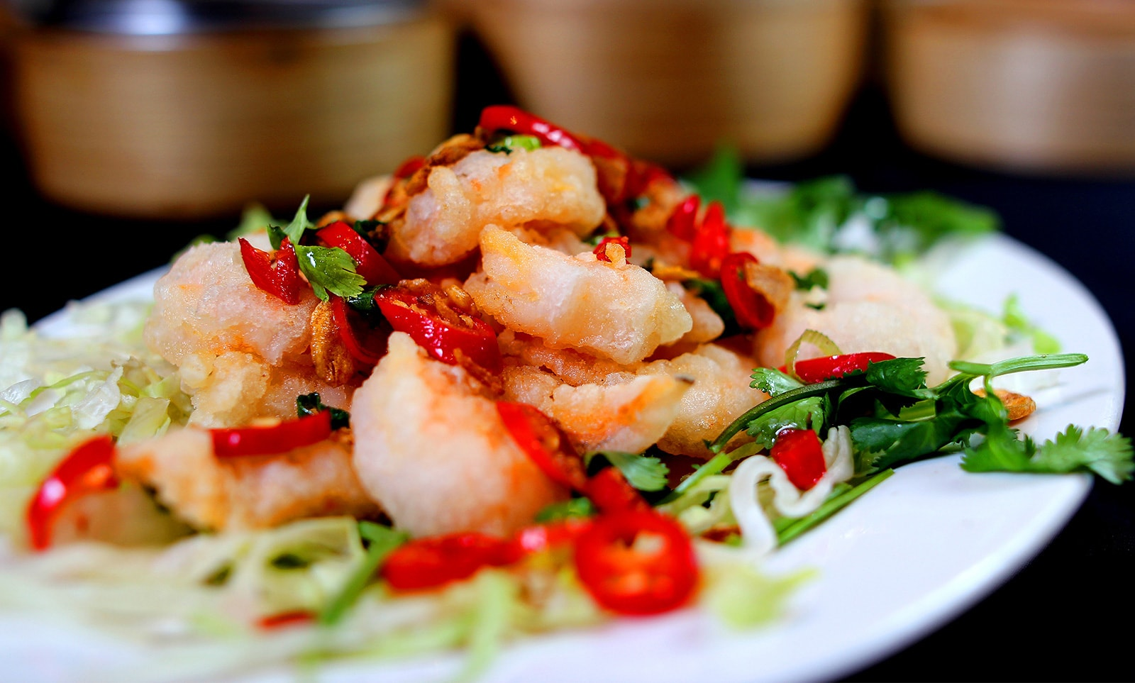 Salt & Chilli King Prawns