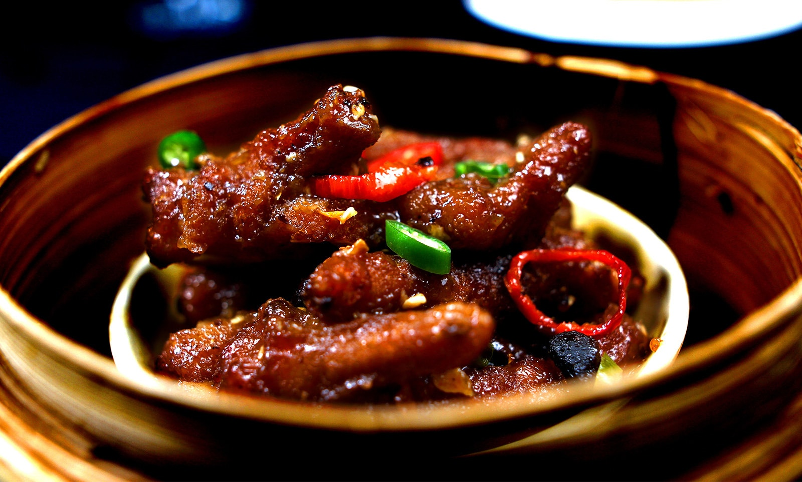 Chicken Feet in Black Bean