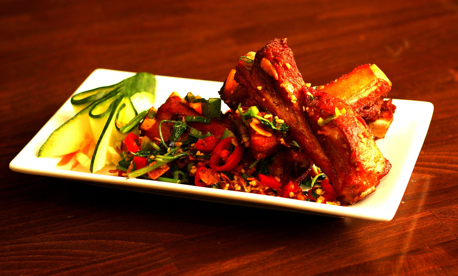 Salt and Chilli Spare Ribs